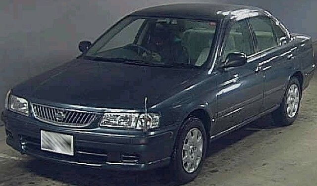 Nissan Sunny Ex Salon Fb15 Used Car Japan